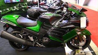 Download 2018 Kawasaki Ninja ZX-14R ABS - Walkaround - 2018 Montreal Motorcycle Show Video