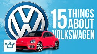 Download 15 Things You Didn't Know About VOLKSWAGEN Video