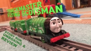 Download Trackmaster Flying Scotsman - Story Run, Unboxing & Review Video