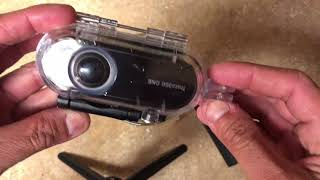Download Insta 360° one Failed Waterproof Casing Video