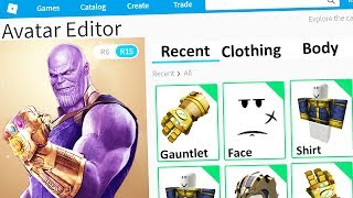 Download MAKING THANOS a ROBLOX ACCOUNT (Avengers) Video