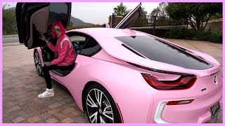 Download MY NEW BARBIE BMW i8 | Jeffree Star [4K Ultra HD] Video
