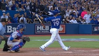 Download Bautista hammers go-ahead three-run shot Video