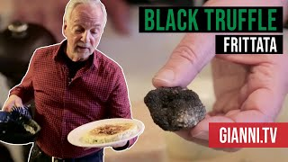 Download Black Truffle Frittata - Italian Cooking Videos - Gianni's North Beach Video