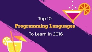 Download Top 10 Programming Languages to Learn in 2017 Video