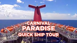 Download Carnival Paradise ShipTour Video