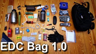 Download EDC Bag 1.0 - Man Purse - Bail Out Bag Video