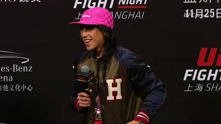 Download UFC Fight Night Shanghai: Q&A with Jedrzejczyk, Masvidal, & Faber Video
