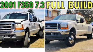 Download 2001 Ford F350 7.3 Project - FULL BUILD - Start to Finish Video