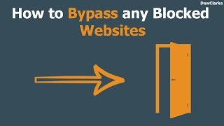 Download How to bypass any blocked websites Video