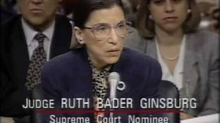 Download Ruth Bader Ginsburg: Supreme Court Nomination Hearings from PBS NewsHour and EMK Institute Video