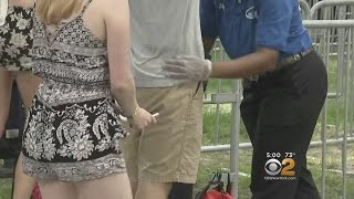 Download Security Tight At Randall's Island For Governor's Ball Video