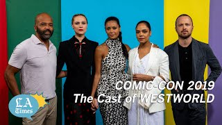 Download 'Westworld' cast members barter information about their own show Video