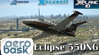 Download Aerobask Eclipse 550NG for X-plane 11 Video