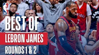 Download LeBron James' Best Plays First and Second Round: 2018 NBA Playoffs Video