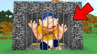 Download We Trapped SuperMarioLogan Jeffy In Minecraft! Video