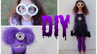 Download DIY Purple Minion Costume +Makeup & Hair! -HowToByJordan Video