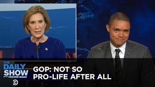 Download Not So Pro-Life After All: The Daily Show Video