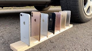 Download Many iPhones vs CAR Video