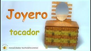 Download Manualidades: joyero tocador hecho con pinzas de madera / crafts Video