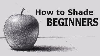 Download How to Shade with PENCIL for BEGINNERS Video