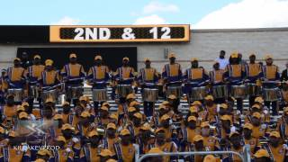 Download Alabama State & Miles College - Percussion - Turkey Day Classic 2016 Video