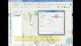Download Downloading OpenStreetMap (OSM) data using Quantum GIS (QGIS) Video