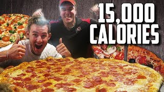 Download MASSIVE 30″ PIZZA CHALLENGE WITH RANDY SANTEL! (15,000+ CALORIES) Video