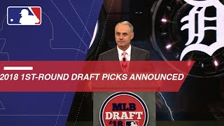 Download Announcing the first 30 Picks of 2018 MLB Draft Video