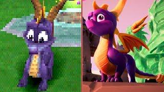 Download Spyro the Dragon Reignited Trilogy Visual Comparison Video
