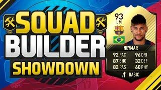 Download FIFA 17 SQUAD BUILDER SHOWDOWN!!! INFORM NEYMAR!!! Inform Neymar Squad Duel Video