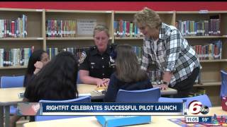 Download Rightfit program helps IPS students, police officers build relationships Video