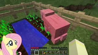 Download BREAADD!! [Fluttershy Plays: Minecraft Episode 2] Video