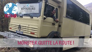 Download Monster quitte la route ⚠️! | Bosnie Herzegovine Une famille nomade en camion | Les Petits Voyageurs Video