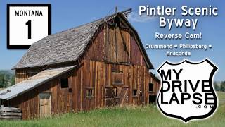Download Pintler Byway: Drummond to Anaconda, Rear-view Cam Video