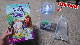 Download MICRO $10 online AQUARIUM SET-UP!!! Video