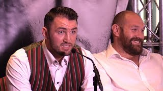 Download Hughie Fury Calls Eddie Hearn A 'Cockroach' Video