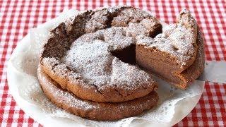 Download 2-Ingredient Chocolate Cake (Gâteau au Chocolat) | OCHIKERON | Create Eat Happy :) Video