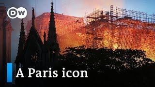 Download Notre Dame Cathedral Fire: The world mourns the loss of a Paris icon | DW News Video