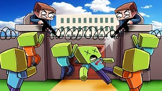 Download Minecraft | ESCAPE THE ZOMBIE PRISON - Break OUT Challenge! (Zombie Prison) Video