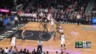 Download Milwaukee Bucks at Brooklyn Nets - December 1, 2016 Video