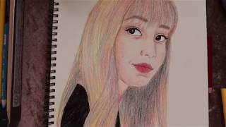 Download BLACKPİNK -Lalisa Manoban Çizimi /Drawing Lalisa BLACKPİNK Video