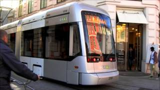 Download Graz Straßenbahn Linien - Trams in Graz - Villamos Video