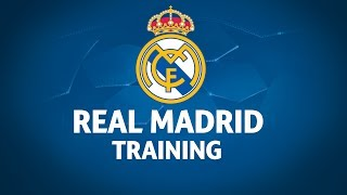 Download Real Madrid Training Session Video