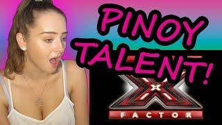 Download REACTING TO FILIPINO SINGERS THAT SHOCKED THE WORLD! X-FACTOR EDITION! Video
