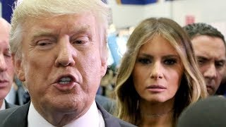 Download Melania Trump Appears To Really Dislike Her Husband Video
