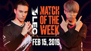 Download #LEC Match of the Week | G2 Esports vs Misfits | Friday 15th Video