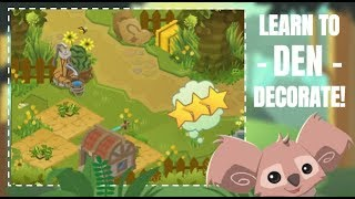 Download HOW TO DEN DECORATE! Exterior Decorating Lesson Animal Jam Video