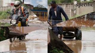 Download Stuck Nairobians ask for 'Noah's Ark' after morning rains flood roads Video