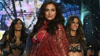 Download Irina Shayk Walks 2016 Victoria's Secret Fashion Show Runway PREGNANT Video